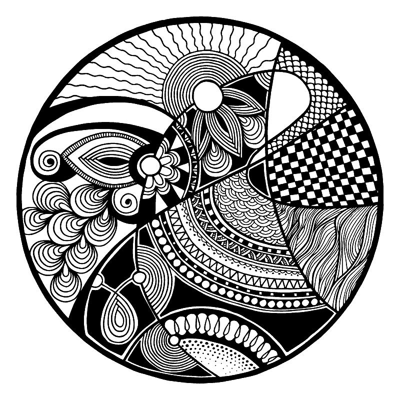 Раскраска «Зендала Закат солнца». №182734