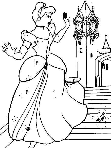 Раскраска «Золушка». №154248