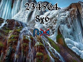 Пазл перевертыш №234564
