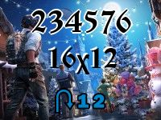 Пазл перевертыш №234576
