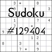 Судоку №129404