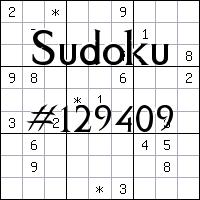 Судоку №129409