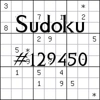 Судоку №129450