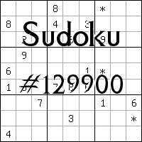 Судоку №129900