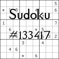 Судоку №133417