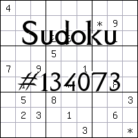 Судоку №134073