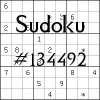 Судоку №134492