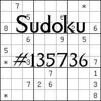 Судоку №135736