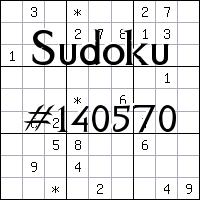 Судоку №140570