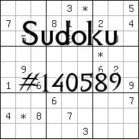Судоку №140589