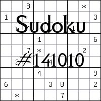 Судоку №141010