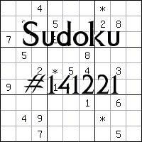 Судоку №141221
