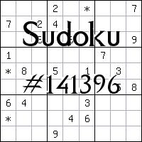 Судоку №141396