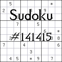 Судоку №141415