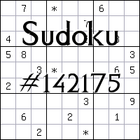 Судоку №142175