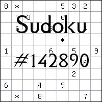 Судоку №142890