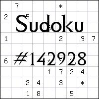 Судоку №142928