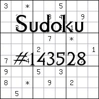 Судоку №143528
