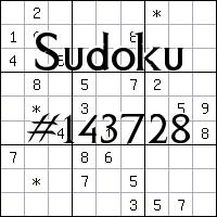 Судоку №143728