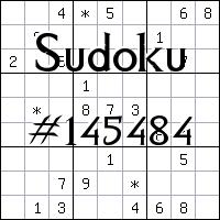 Судоку №145484
