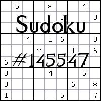Судоку №145547