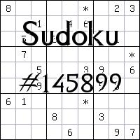 Судоку №145899