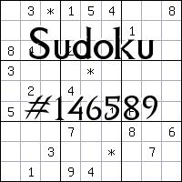 Судоку №146589