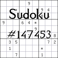 Судоку №147453