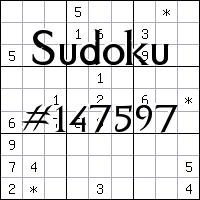 Судоку №147597