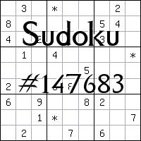 Судоку №147683