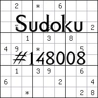 Судоку №148008