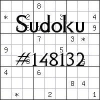 Судоку №148132