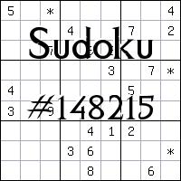 Судоку №148215