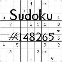 Судоку №148265