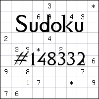 Судоку №148332