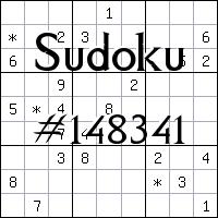 Судоку №148341