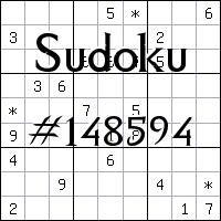 Судоку №148594