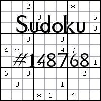 Судоку №148768