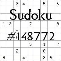 Судоку №148772