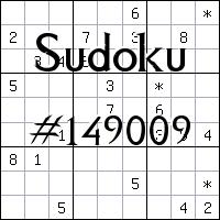 Судоку №149009