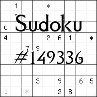 Судоку №149336