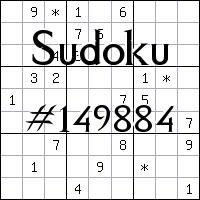 Судоку №149884