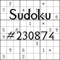 Судоку №230874