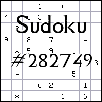 Судоку №282749