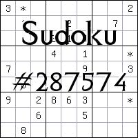 Судоку №287574