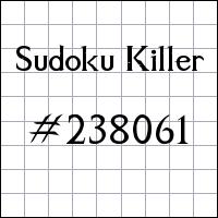 Судоку-киллер №238061