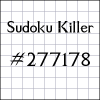Судоку-киллер №277178