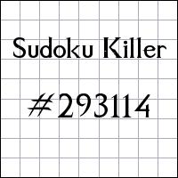 Судоку-киллер №293114