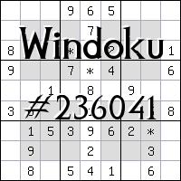 Виндоку №236041