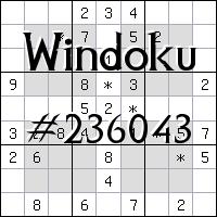 Виндоку №236043